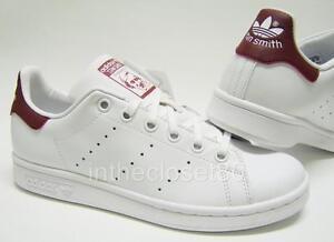 adidas originals stan smith 2 kids red