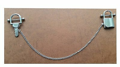 Dangle beads Nipple Chain 14g 1.6mm Surgical Steel 316l Nickle Free