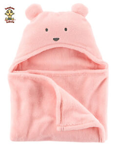 Carter-039-s-Hooded-Receiving-Blanket-Authentic-Brand-New
