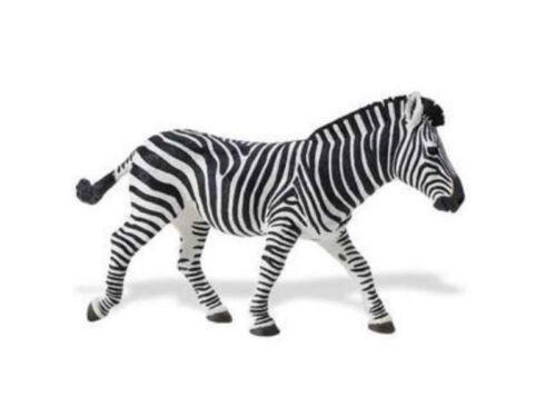 Zebra 21 cm série animaux sauvages xxl safari Ltd 111489