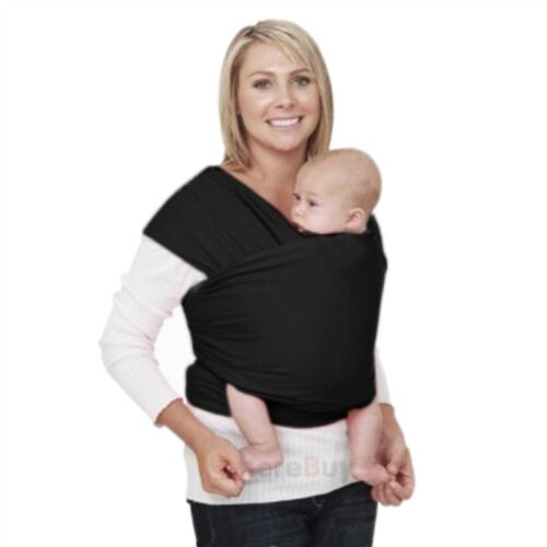 Newborn Baby Infant Sling Carrier Ring Wrap Adjustable Soft Nursing Pouch Front