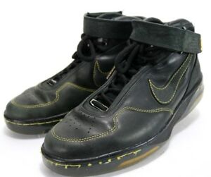 Details about Nike Air Force 25 $120 Men's Basketball Shoes Size 11.5 Leather Black