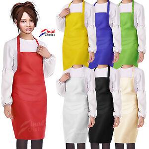 """Femme Femmes Filles Ados Adolescents Plain School Accueil Cuisine Cuisson Tablier""""-afficher Le Titre D'origine Oic7qn2a-07221339-933837255"""