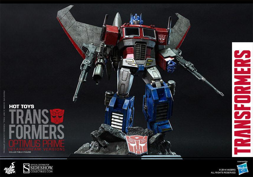 Hot Toys Transformers OPTIMUS PRIME (STARSCREAM VERSION) Figure 1 6 Scale TF001