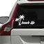 Beach Life Sticker Decal Car Truck SUV Lake Outdoors Swimming Relax Travel