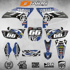 Yamaha YZF 250 2010 / 2011 / 2012 / 2013 Graphic kit Decals / stickers set