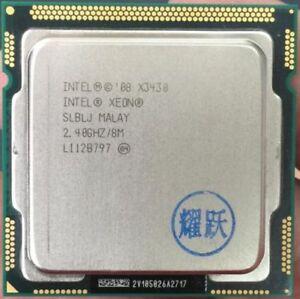 Intel Xeon X3430 2.4 GHz Socket 1156 CPU Processor SLBLJ