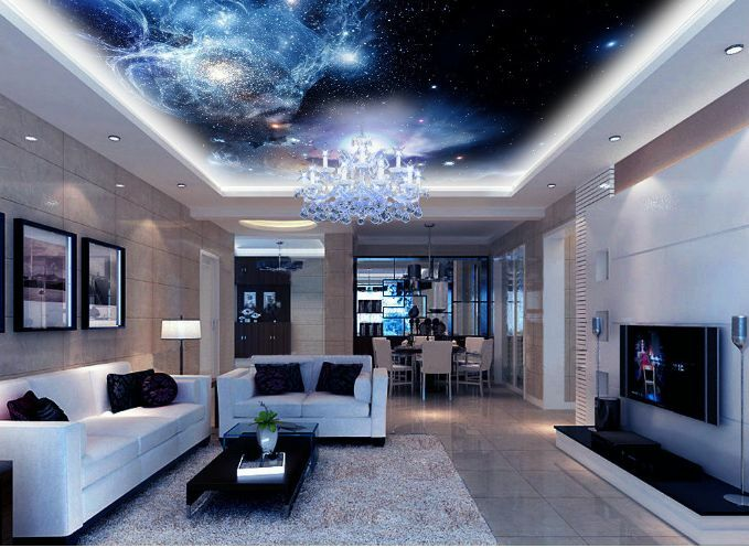 3D Dream Space 14 Ceiling WallPaper Murals Wall Print Decal Deco AJ WALLPAPER GB