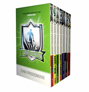 Jamie-Johnson-7-Book-Set-Football-Series-Collection-Skill-Pack-Dan-Freedman