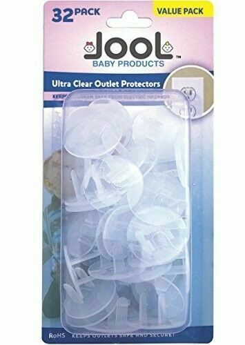 Dreambaby Outlet Plugs Baby Securely Cover Child Proof Electrical Socket Covers Caps Pack of 36