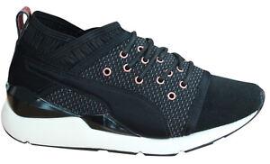 Vr con cordones 02 Zapatillas de deporte negras y 364154 U77 Puma zapatillas para Pearl mujer 8UxUYgwaq0
