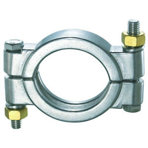"""HFS 6/"""" Sanitary Clamp R Tri Clamp Clover Stainless Steel"""