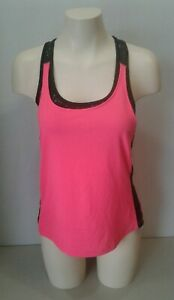 82ab8e728c397 Image is loading Champion-Womens-Size-Small-PInk-Black-Workout-Racerback-