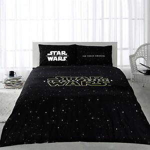 Star Wars Force Awakens 100 Cotton Bedding Quilt Duvet