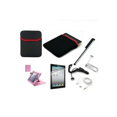 iPad 2 Premium Bundle 7 Accessory Kit Complete Set All You need for iPad 2,3