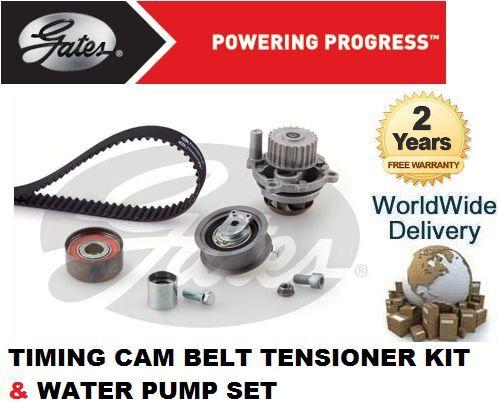 Pour Audi A3 2.0 FSI 2003-2008 je cam timing ceinture kit Tendeur /& Pompe à Eau Set