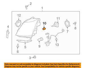 Cadillac GM OEM 07-13 Escalade EXT-Bulbs 10351675 | eBayeBay