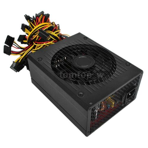 1800W 90/% Efficiency PSU Switching Power Supply For Main Boards Graphics US