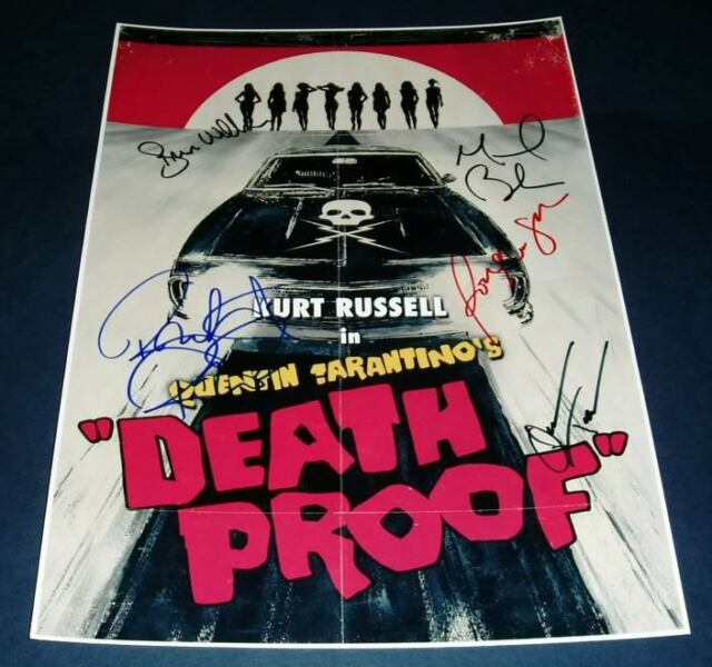 DEATH PROOF Movie PHOTO Print POSTER Film Quentin Tarantino Grindhouse Glossy 01
