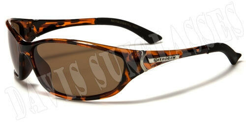Men/'s Nitrogen Polarized Sunglasses PZ7605 Davis A1 fishing brown sunnies