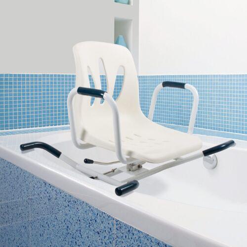 Swivelling Bather Rotating Swivel Bath Seat Shower Chair Transfer ...