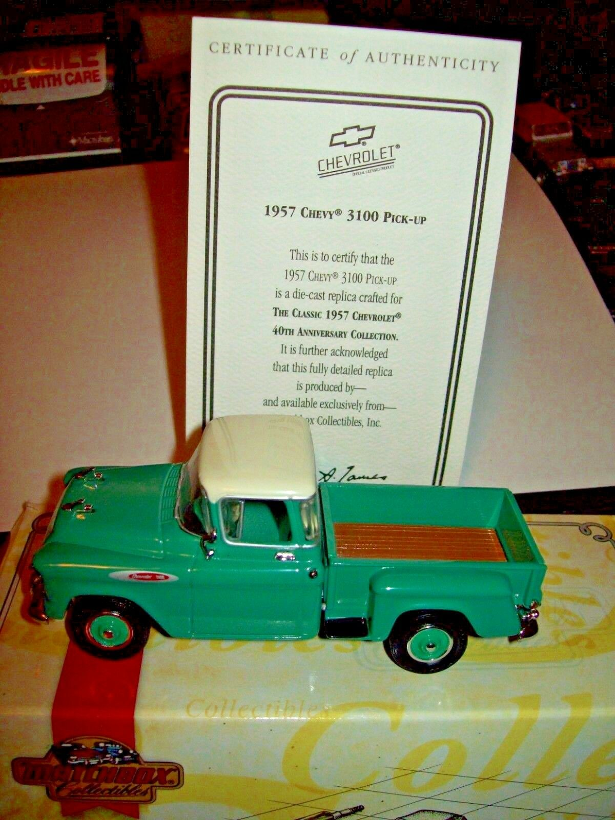 Matchbox 1957 Chevrolet Pickup Truck 3100 1 43 Scale Ebay Pick Up Norton Secured Powered By Verisign