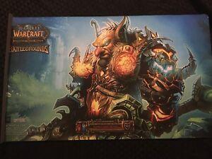 World Of Warcraft TCG Battleground Master Harbinger Sefu Playmat Mouse Pad