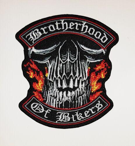 Cucire//Stirare Brotherhood of Biker 93 x 84 mm Patch