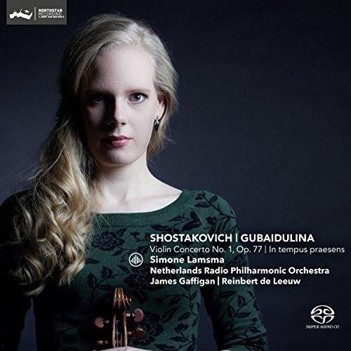 Shostakovich: Violin Concerto No. 1, Op. 77 Gubaidulina: In tempus [New SACD]