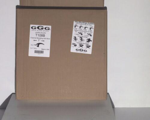 "75FT in Box Universal Gasket Windshield Moulding T108B 1/"""