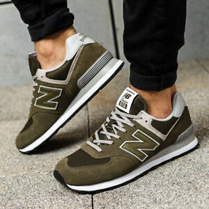 various colors e94ae 15f80 Details about NWOB Men's New Balance ML574EGO (olive / white) Life style  sneakers Size 8.5-M