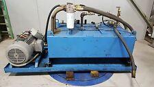 Oilgear Pvwh 45 Rsay Hydraulic Pump Unit 50 Hp 175 Gal 230460 45 Gpm 2500 Psi