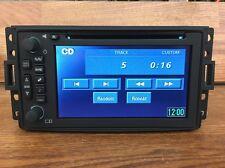 2006-2010 Hummer H3 Navigation Cd Radio Touchscreen 15883298 UM8 Bose - UNLOCKED