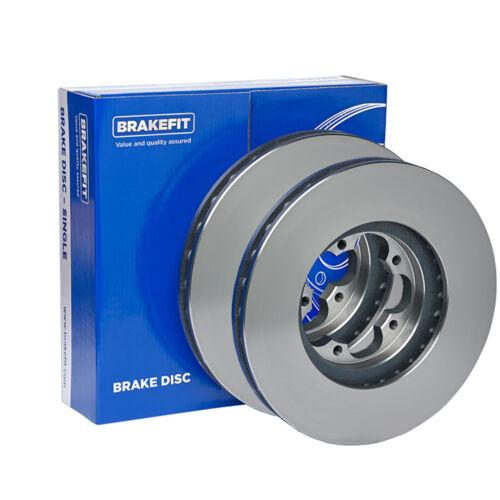 Fits Mercedes CLK C209 270 CDI Genuine Brakefit Front Vented Brake Discs