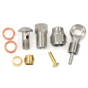 ALHONGA Kit repair brake disc cable hose hidraulic Formula