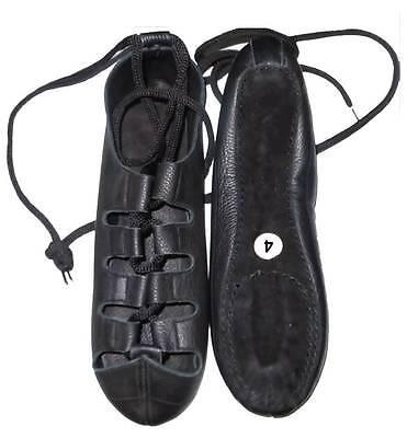 Zapatos de baile irlandés, 100% Cuero Bombas de cuero nuevo hecho a mano todos los tamaños