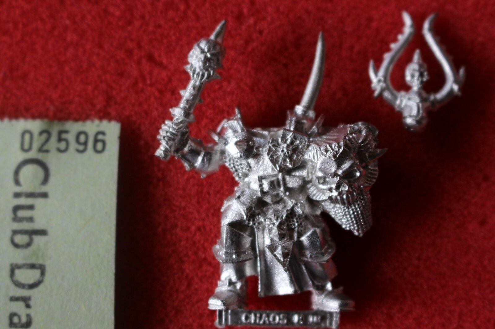 Games Workshop Warhammer Chaos Warriors Chosen Musician Metal Fantasy Sigmar New