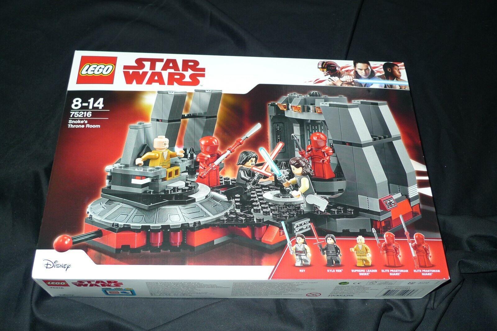 LEGO Star Wars 75216 - SALA DEL TRONO DI SNOKES - NUOVO NEW - SIGILLATO