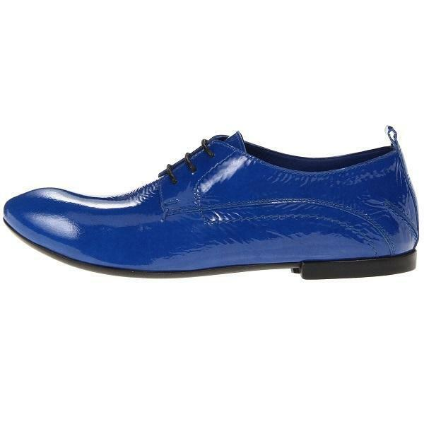 CoSTUME NATIONAL 1115842 Leather Oxford, Women's shoes, bluee 6US 36EU 4UK&AU