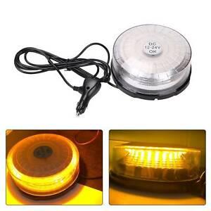 LED-Flashing-Beacon-Magnetic-12v24v-Lightbar-Truck-Warning-Light-Strobe