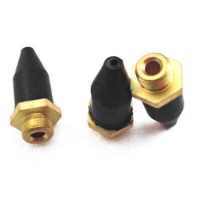 5pcs//set Rubber Tip Air Nozzle With Zinc Alloy Screw For Blow Gun Kits Prats