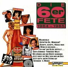 Die 60er Fete 1964-1965 (12 tracks) Adamo, Bambis, Alma Cogan, Vittorio, .. [CD]