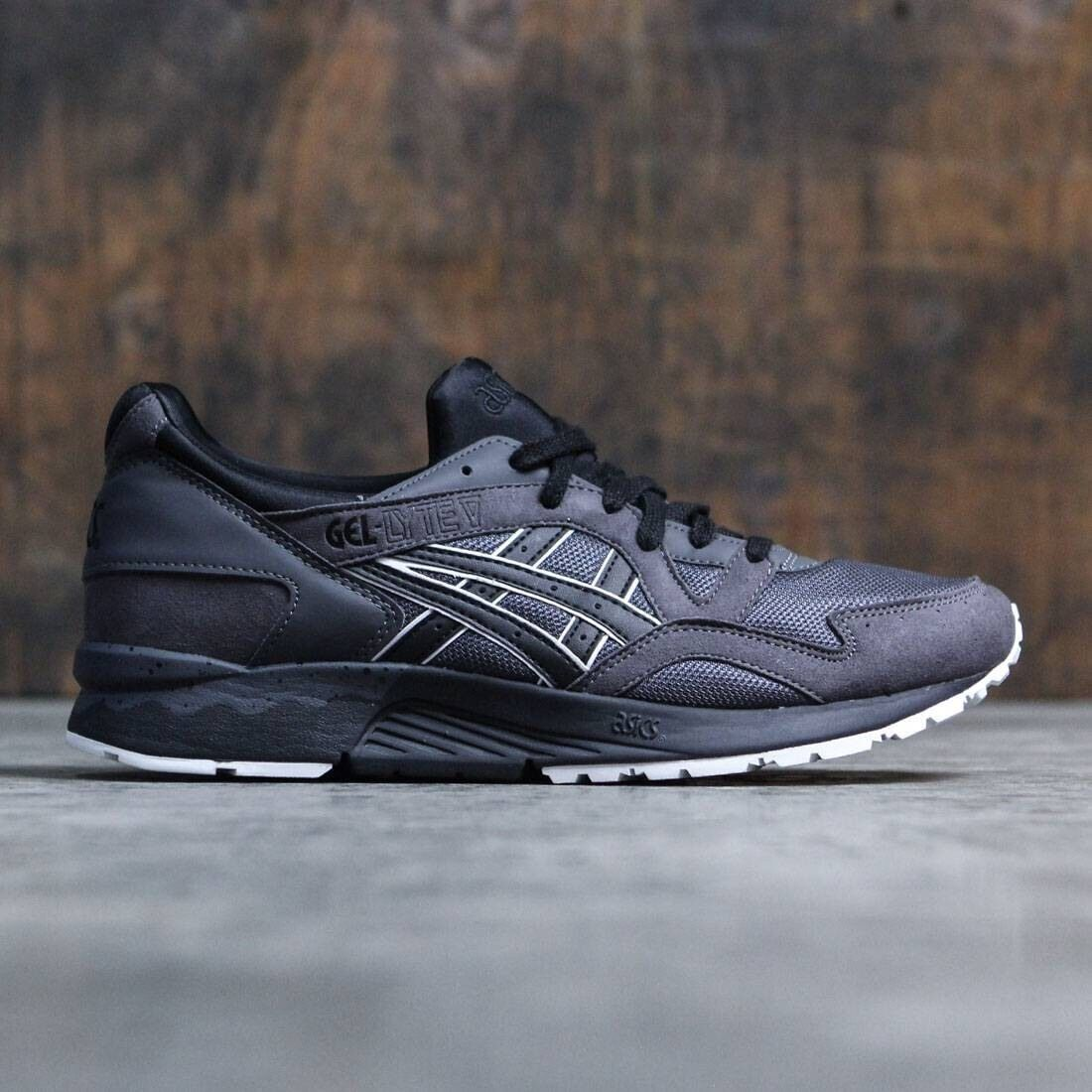 ASICS GEL LYTE V HN6A4 2890 MENS RUNNING SHOES DARK GREY/BLACK