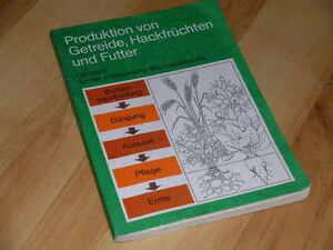 Produktion von Getreide, Hackfrüchten und Futter Anbau Düngung Ernte Lagerung