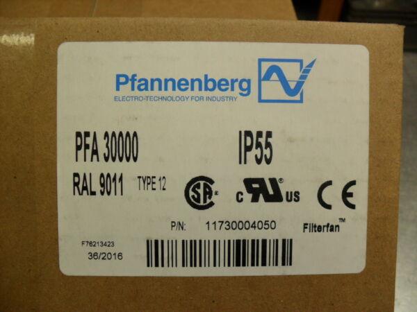 Pfannenberg Pfa 30000 Filtro Ventola Ral 9011 Tipo 12 Sigillato Scatola Ridurre Il Peso Corporeo E Prolungare La Vita