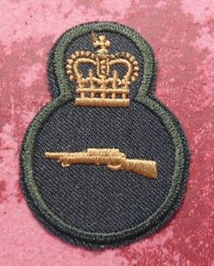 Details about Canadian Armed Forces SNIPER trade qualification badge level 3