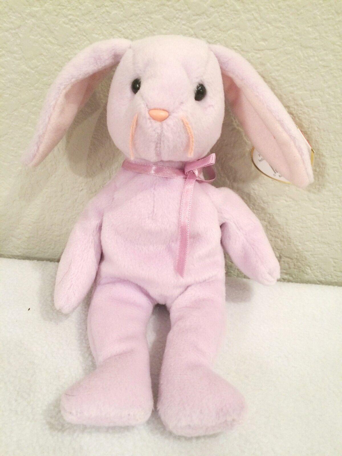 Floppity Bunny TY original beanie baby RETIRED Errors misprints