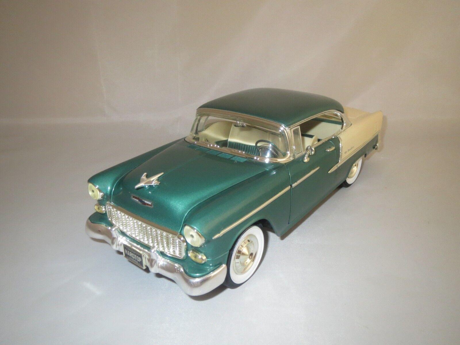 Obtén lo ultimo Ertl American muscle Chevrolet Bel Air  1955  (verde-met.) (verde-met.) (verde-met.) 1 18 sin embalaje   oferta especial