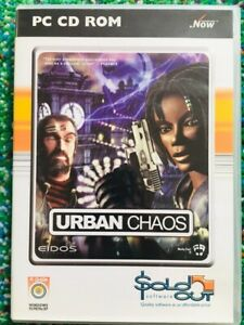 Details about URBAN CHAOS (PC CD-ROM, Win 95/98/Me/XP, Eidos) RARE OOP  Computer Video Game LN!