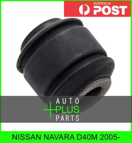 Fits NISSAN NAVARA D40M 2005- Rubber Suspension Bush Front Shock Absorber